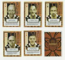 Collectible  playing cards  Wacky Criminals,